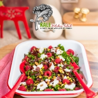 kale holiday salad