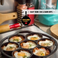 Black Forest Ham and Egg Cups