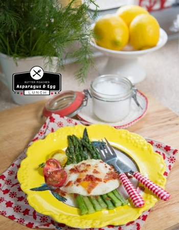Butter Poached Spring Asparagus