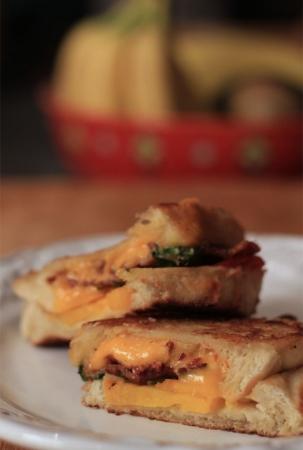 Heirloom Tomato Bacon Melt