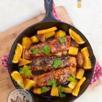 cajun orange salmon