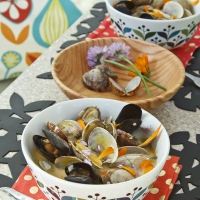 Clams in a Thai Broth