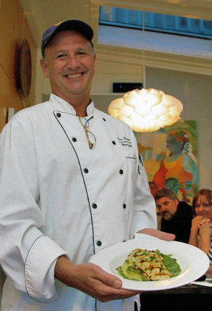 Farm to Fork:  Grilled Halibut by Chef Debaste