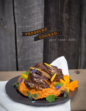 Pressure Cooker Beef Short Ribs