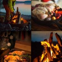 roast hens