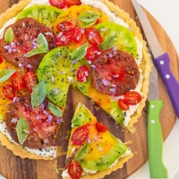 Heirloom Tomato Summer Pie