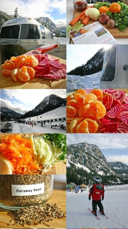 Beet, Carrot and Citrus Salad