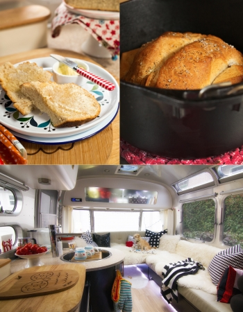Dutch Oven Heart Warming Bread