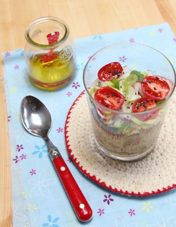 Quinoa and Radish Salad