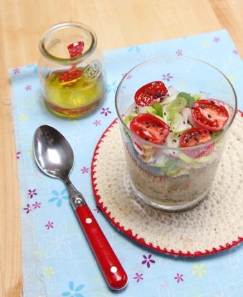 Quinoa and Radish Salad