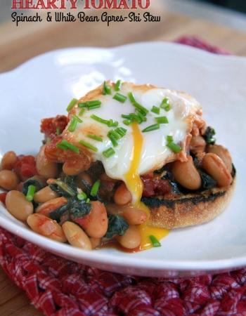 Hearty Tomato, Spinach & White Bean Stew
