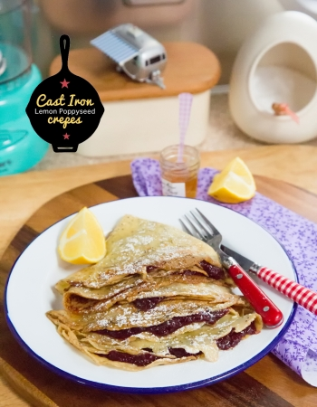 Lemon Poppyseed Crepes