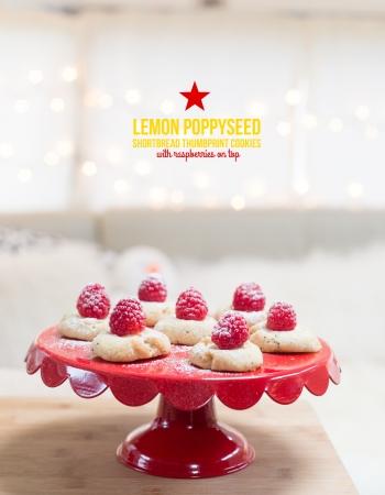 lemon poppyseed shortbread