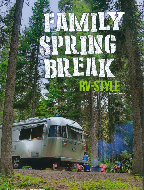 Northwest Travel Magazine // March April Issue Story Cover