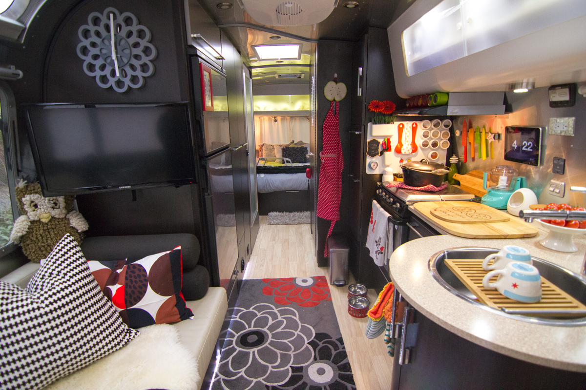 Airstream Trailer Decor