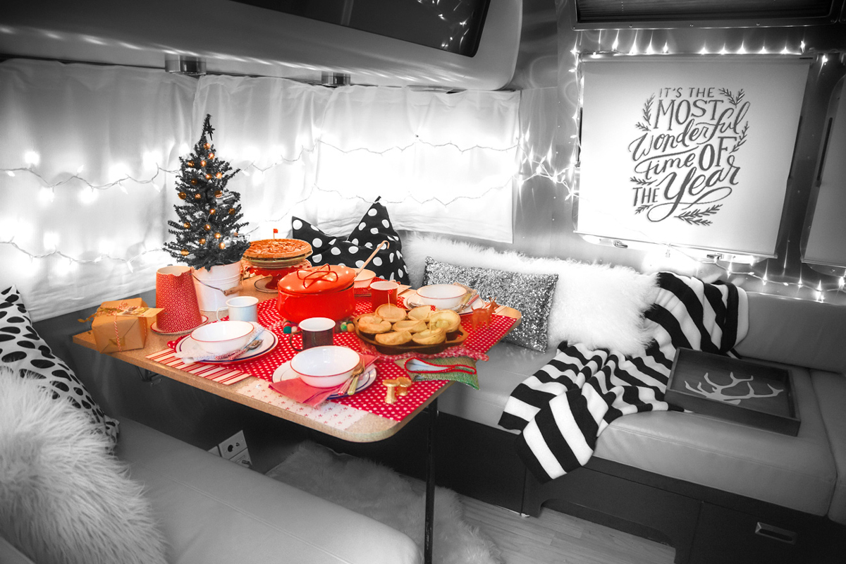 Happy Holidays // RVing Lifestyle Airstream Style via J5MM.com