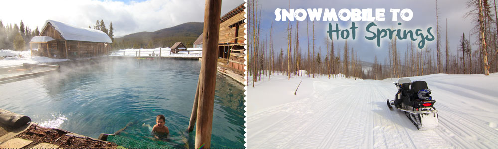 {McCall, ID } Snowmobile to the Magical Burgdorf Hot Springs ♥