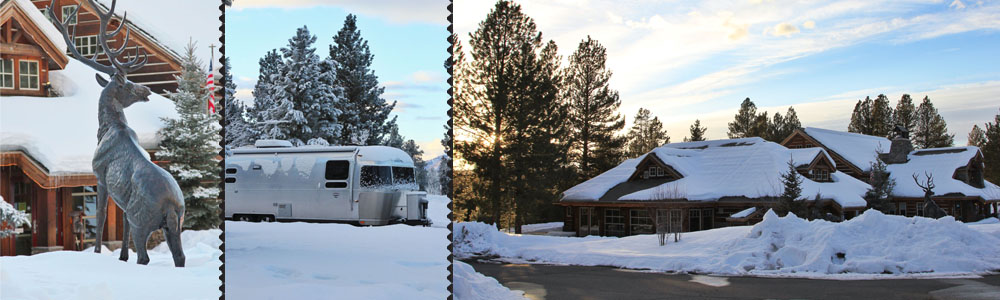 {McCall, ID } Stay at beautiful McCall RV Resort & Northfork Lodge - Amenities Galore Here and Full Hook Ups ♥