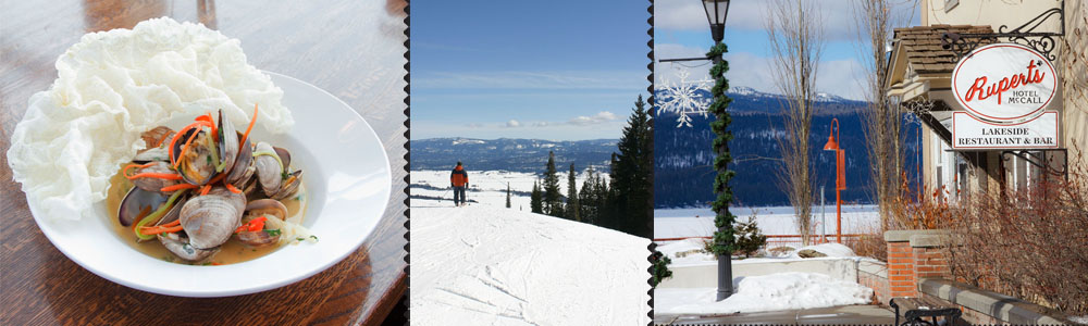 {McCall, ID}  Ski Stunning Tamarack Resort and Apres=