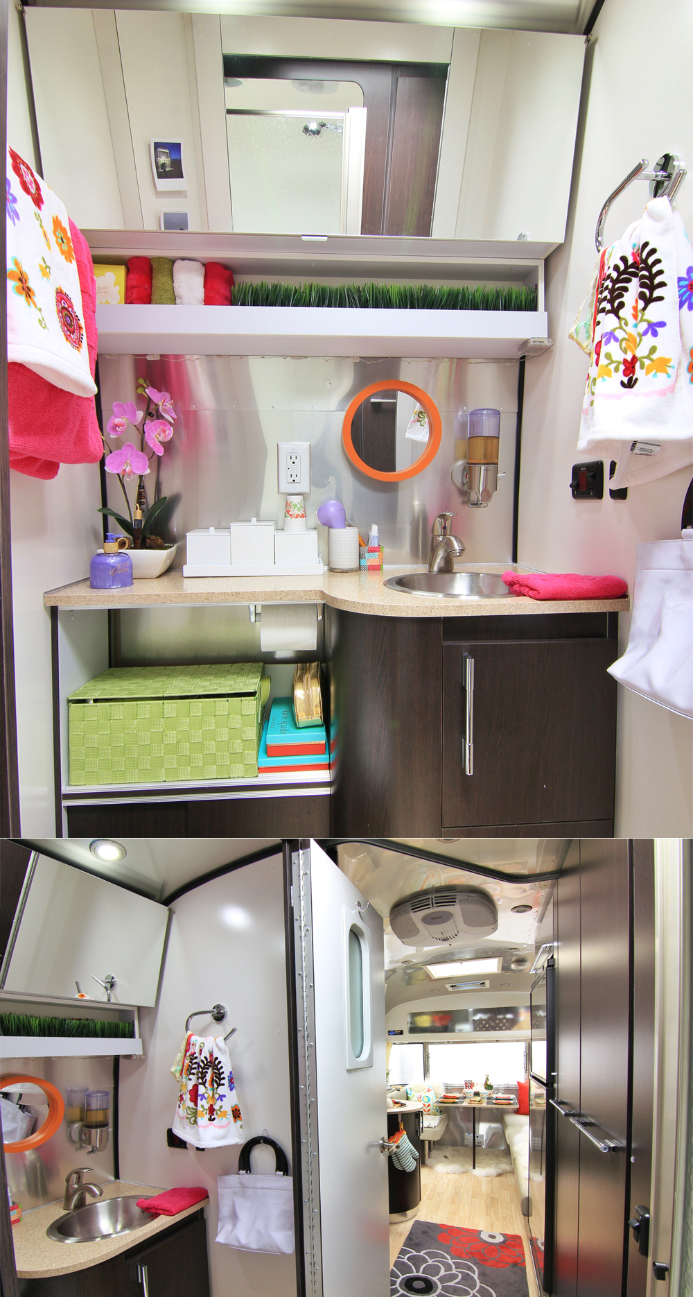 Airstream international signature bathroom
