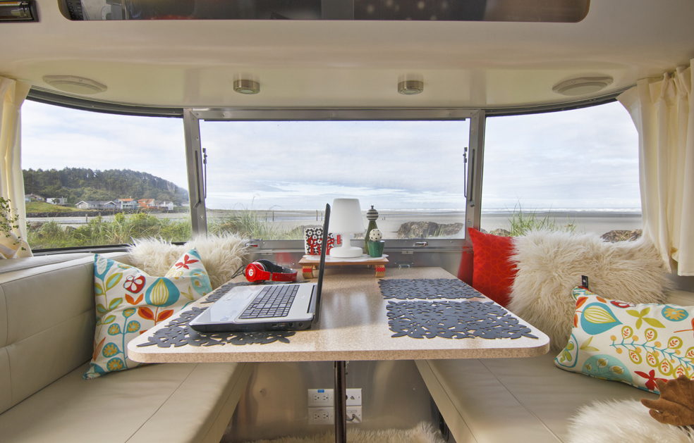 Pacific Beach State Park Glamping with Airstream