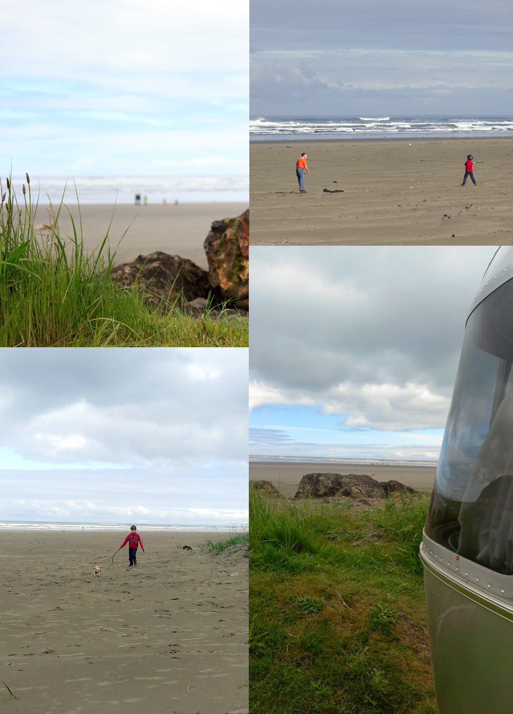 Pacific Beach State Park with Airstream