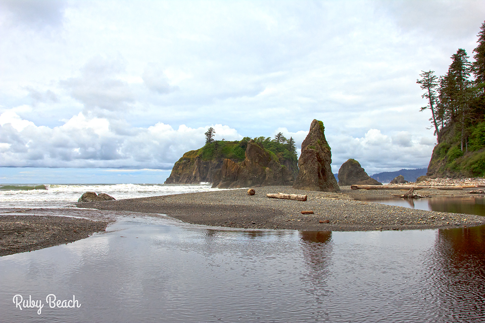 Ruby Beach Olympic National Park