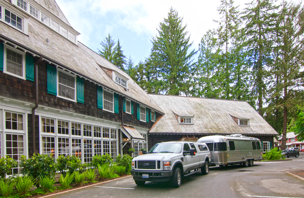 Lake Quinault Lodge on the Olympic Peninsula