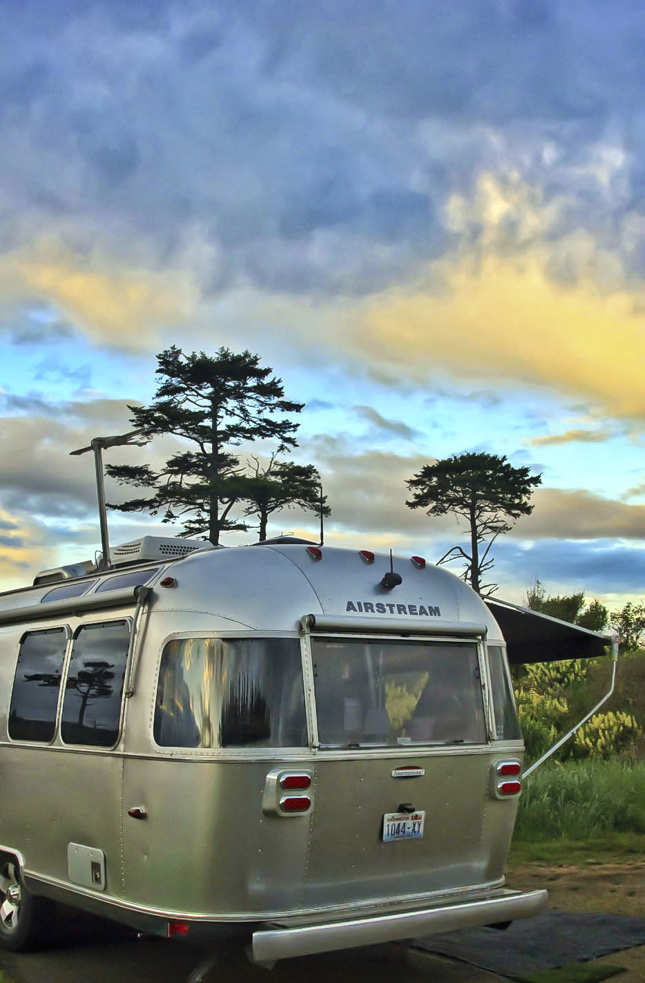 Our Airstream at Fort Worden State Park