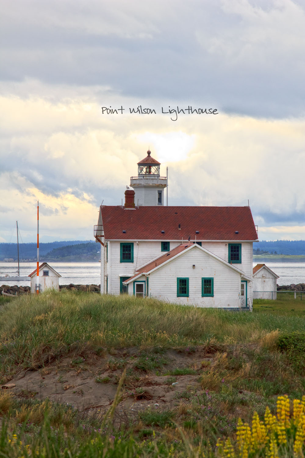 Port Wilson Lighthouse at Fort Worden
