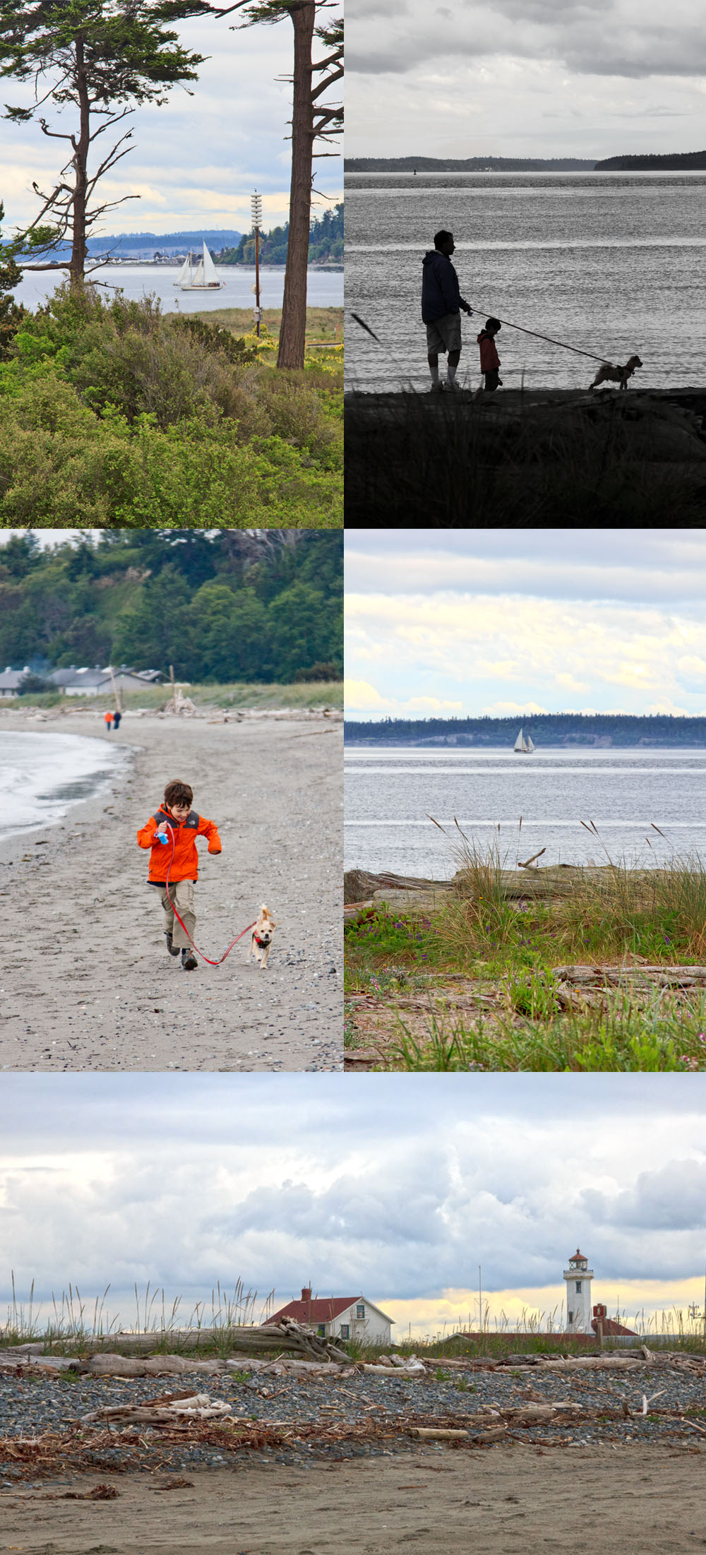 Beach at Fort Worden State Park