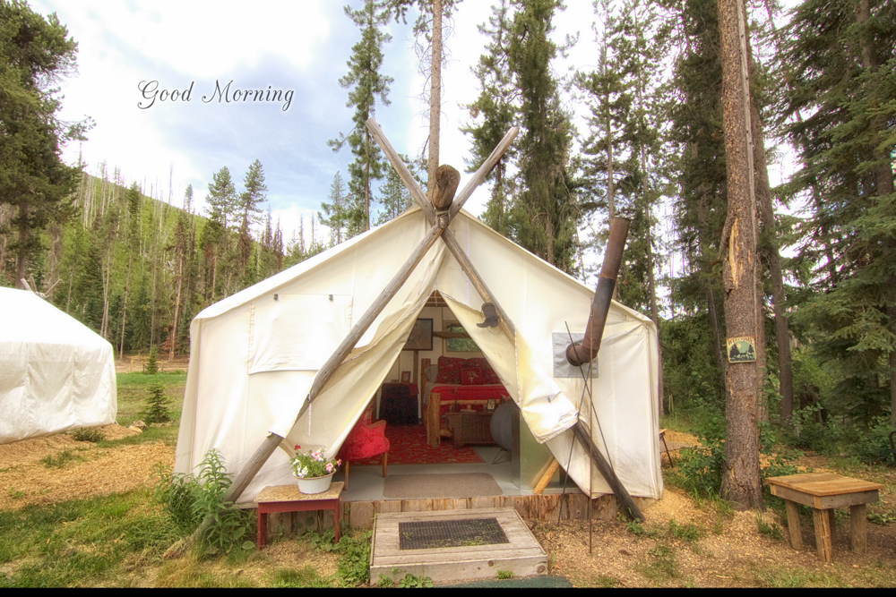 Glamping in the Bitterroot Mountains with Storm Creek Outfitters