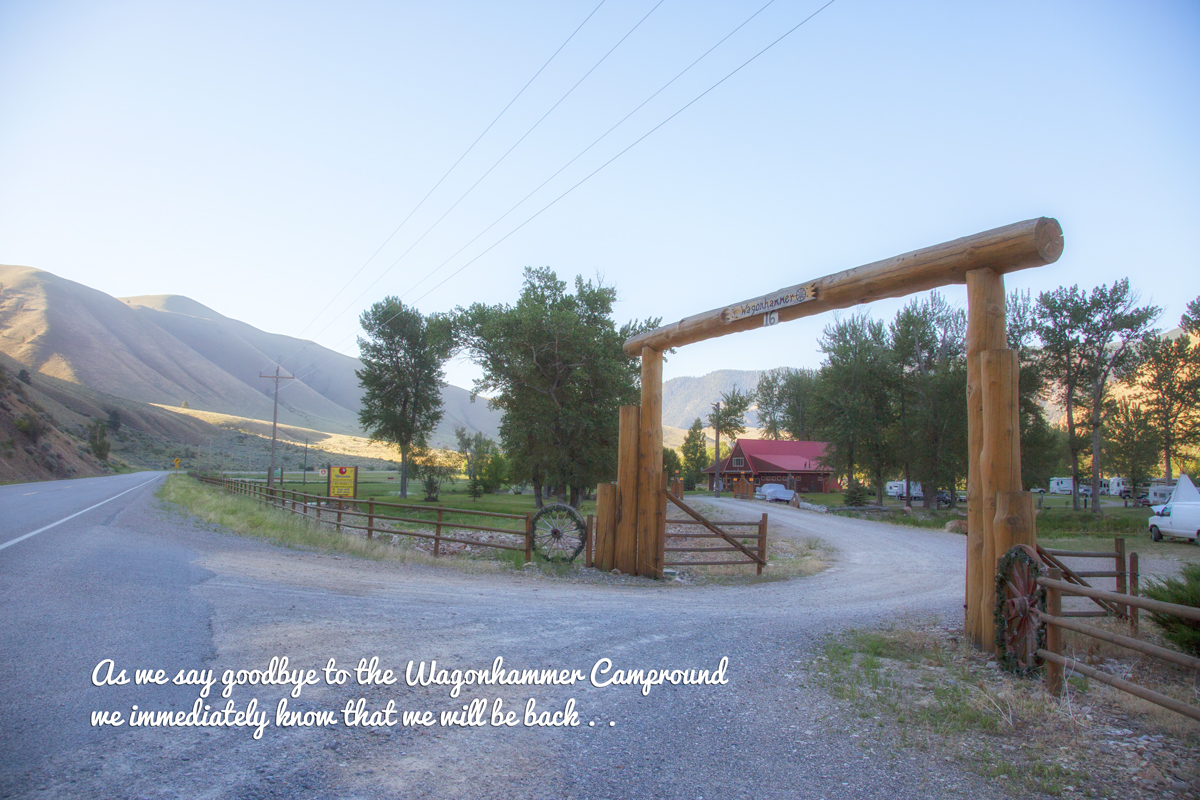 the Wagonhammer Campground in Salmon, ID