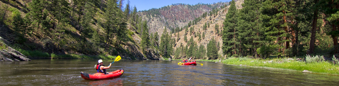 Whitewater Rafting with Rawhide Outfitters in Salmon, ID
