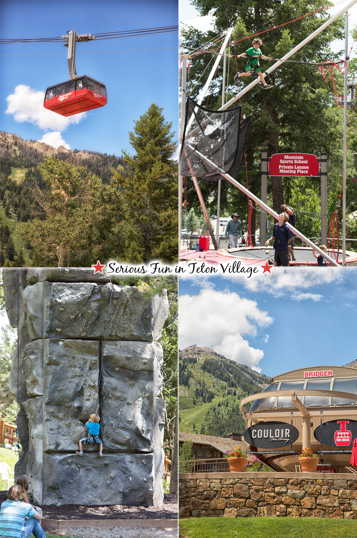 Spoil yourself with a day spent in Teton Village in Jackson, Wyoming