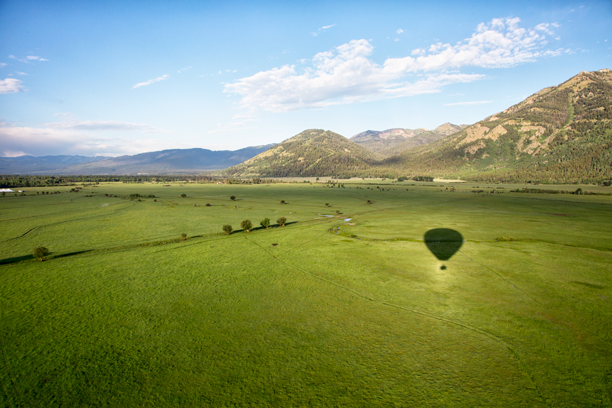 wyoming ballooning company & elevated hot air ballooning in Jackson Hole, Wyoming