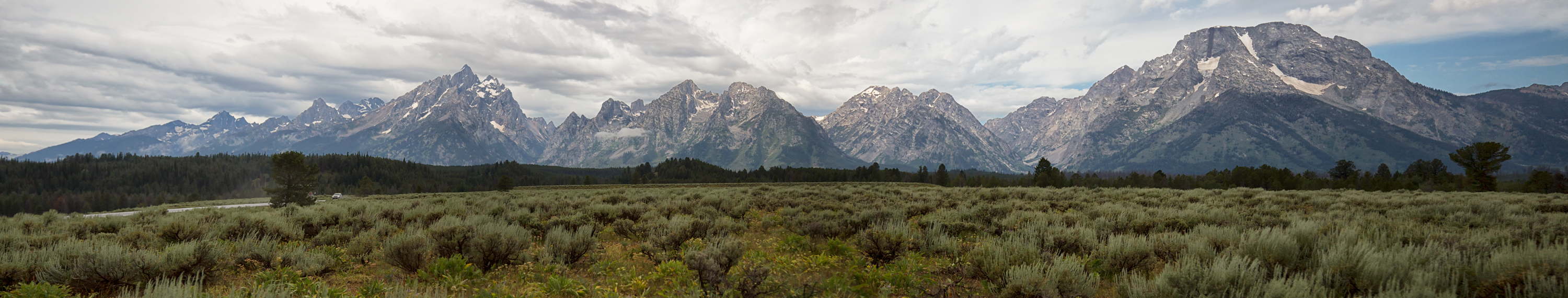 Tetons in Grand Teton National Park with Jackson Hole Wildlife Safaris