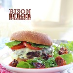 Popular Bison Burger Recipe from J5MM.com // #Airstream