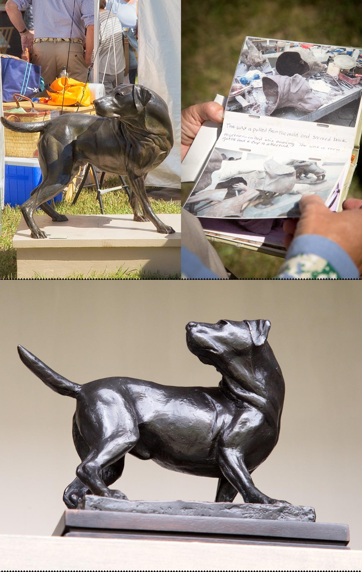 Ken Newman Sculptures Ketchum Arts Festival 2013