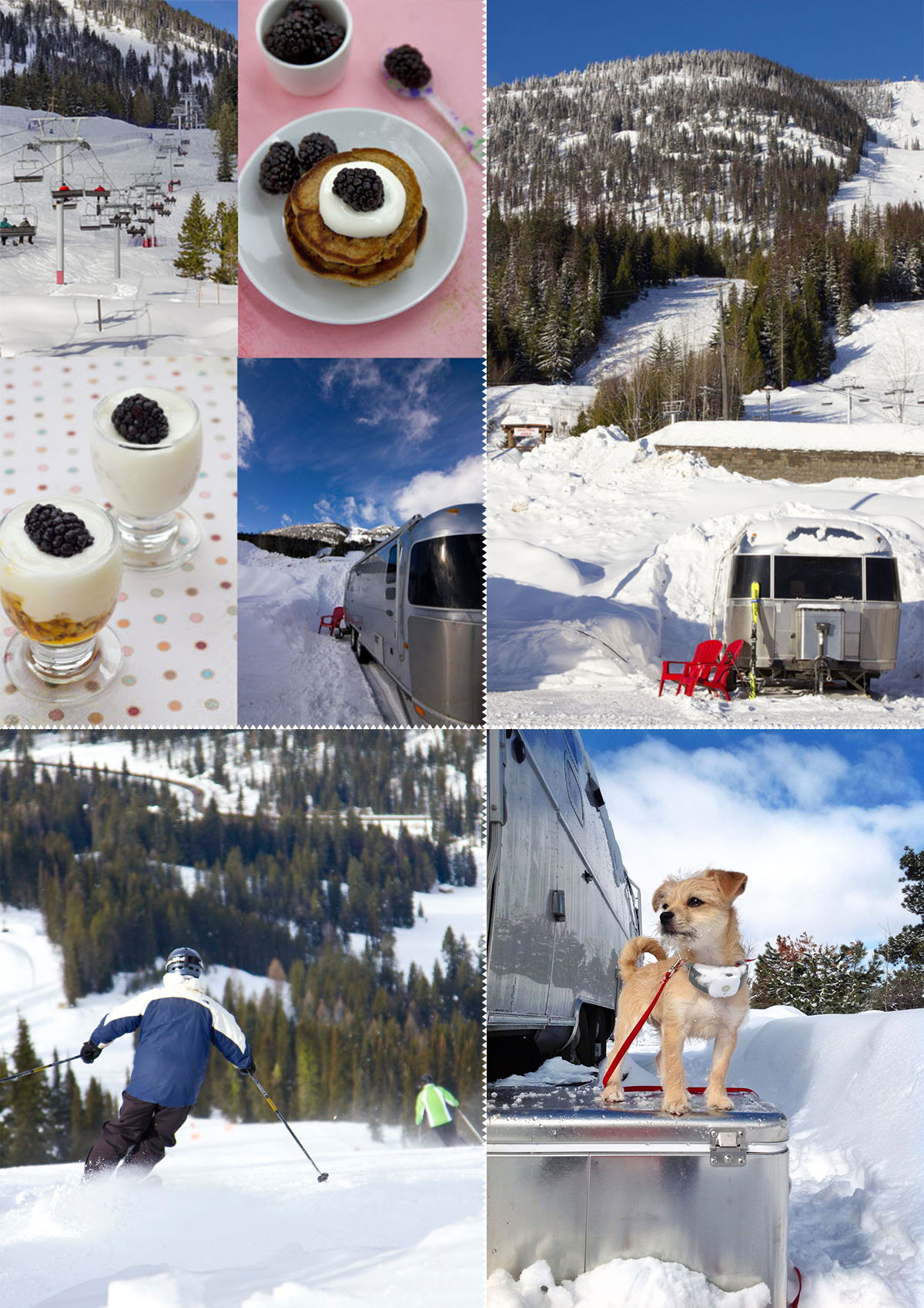 Ski Trip With Our Airstream Travel Trailer via J5MM.com