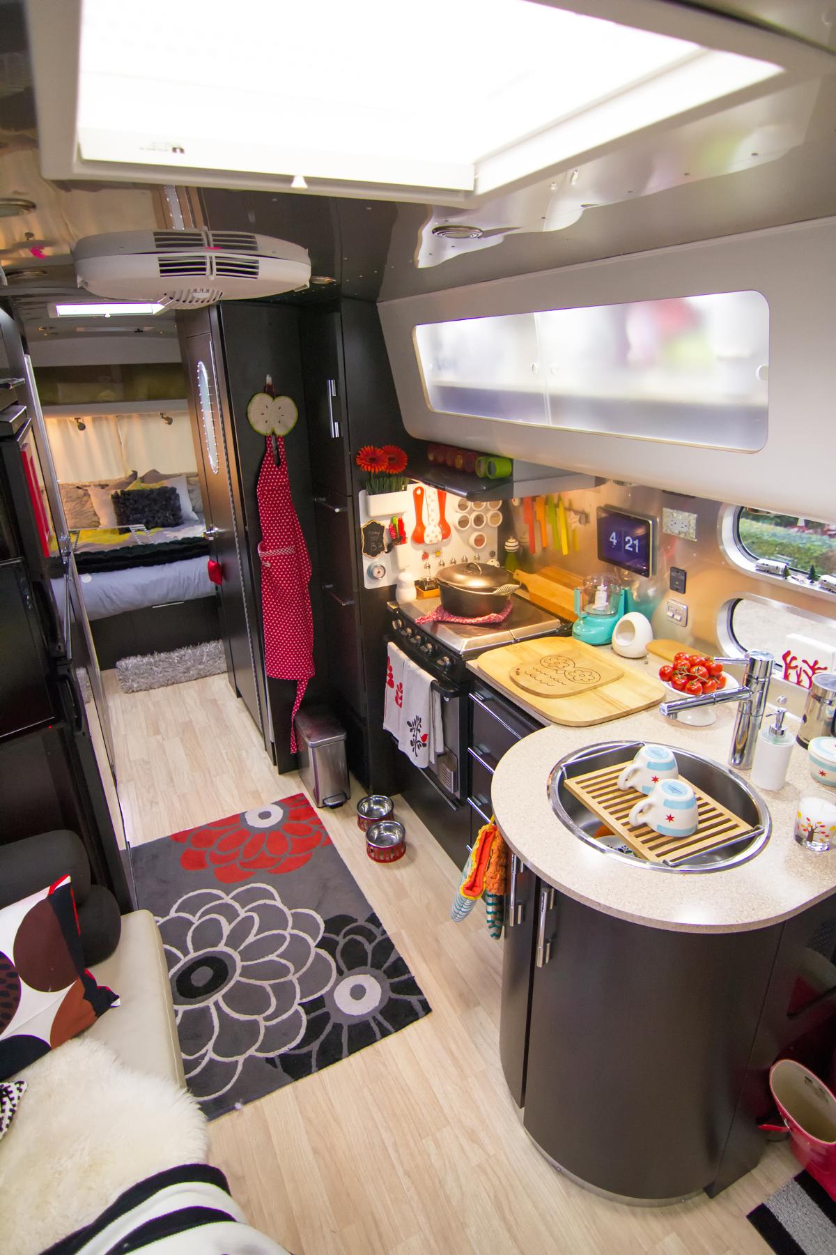 Inside an Airstream International
