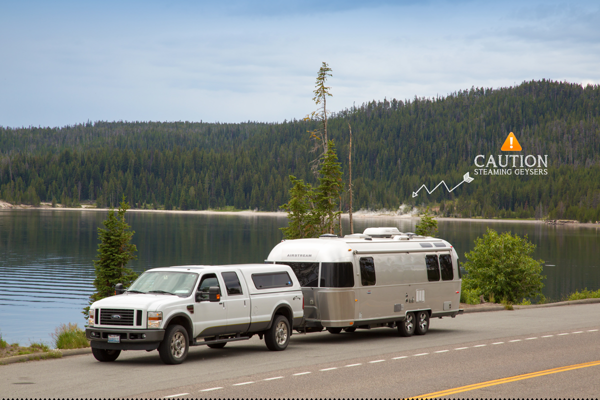 Yellowstone National Park Airstream Road Trip