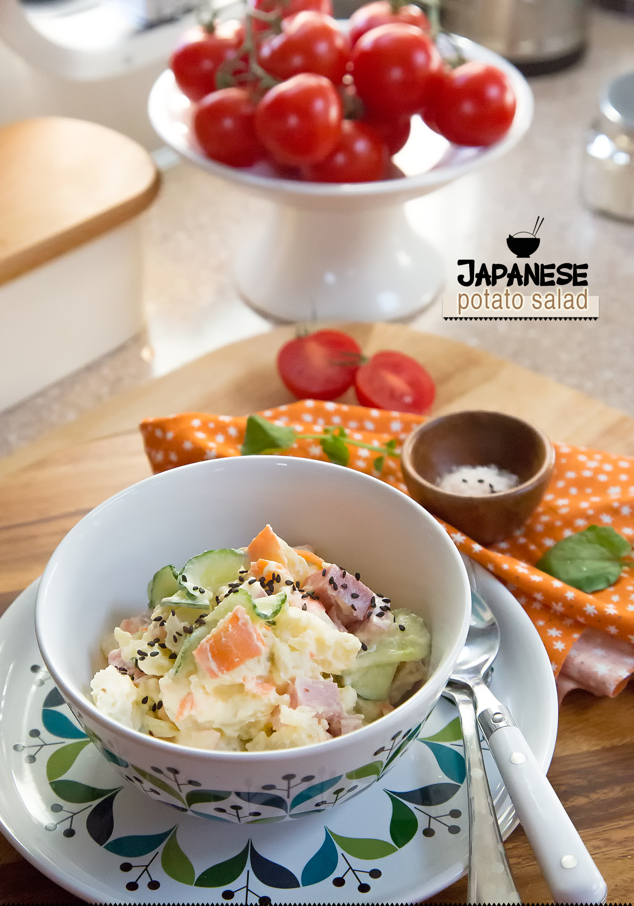 Japanese Potato Salad from my Airstream kitchen to yours
