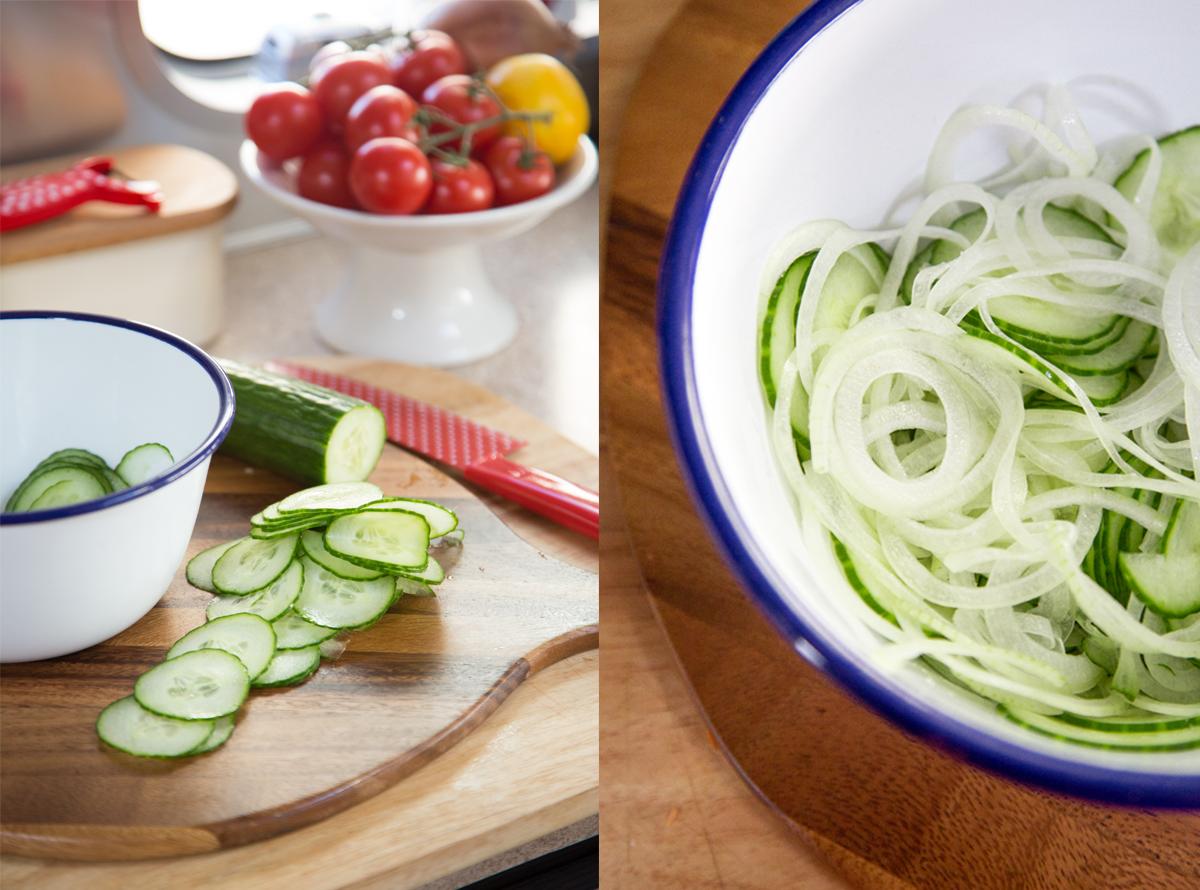 Japanese Potato Salad Fixins