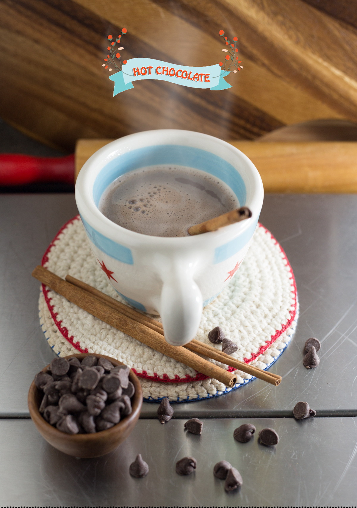 Steaming Hot Cup Of Cocoa