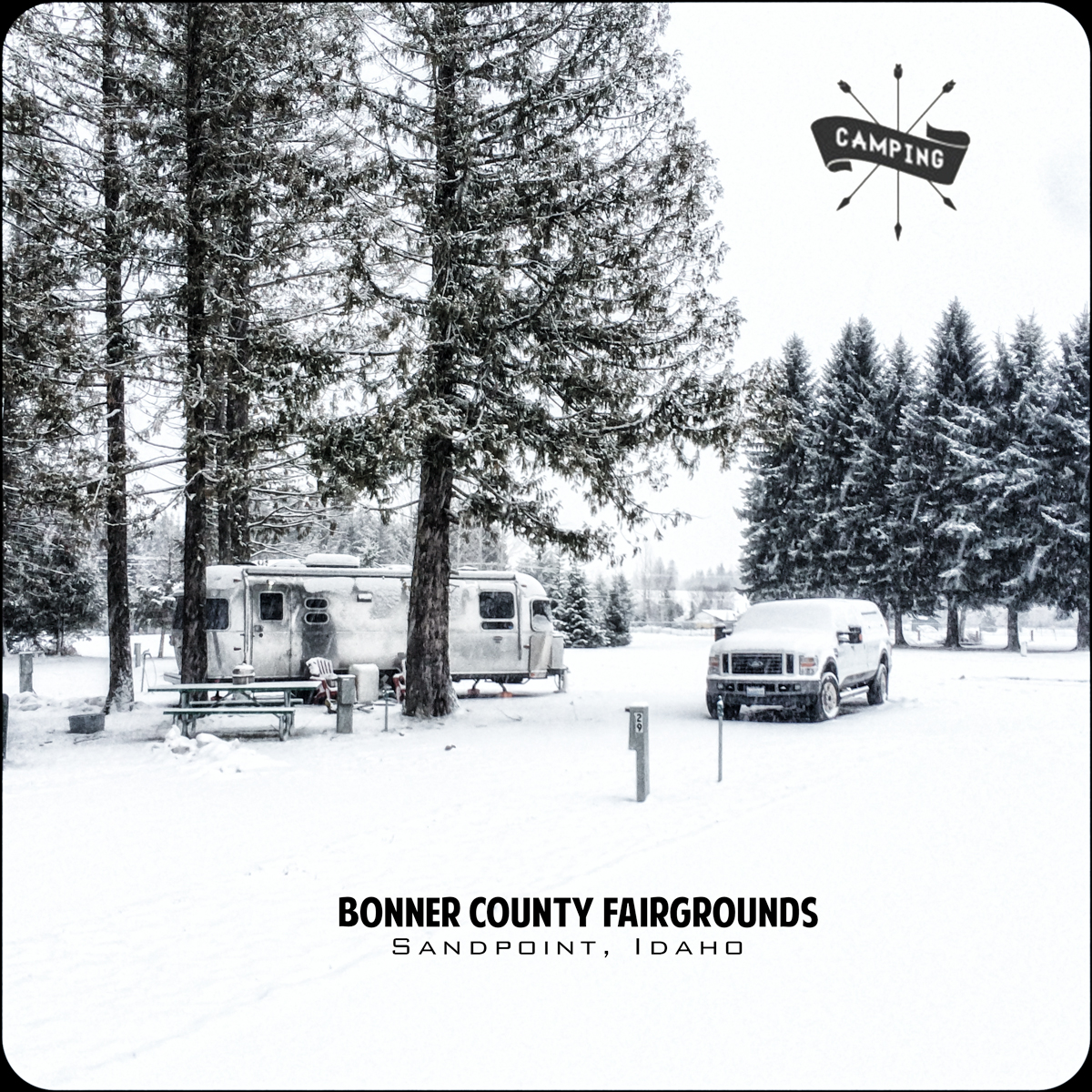 The Bonner County Fairgrounds in Sandpoint, ID
