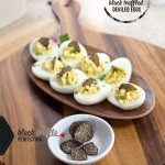 Black Truffled Deviled Eggs via J5MM.com // #Airstream