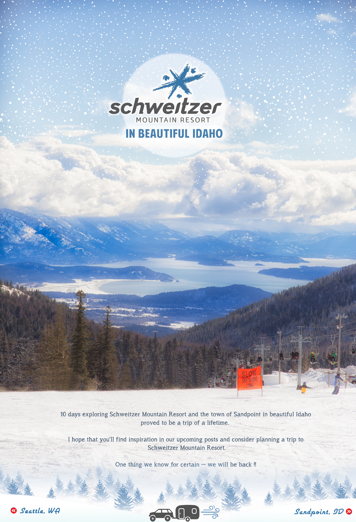 Schweitzer Mountain Resort in Beautiful Idaho