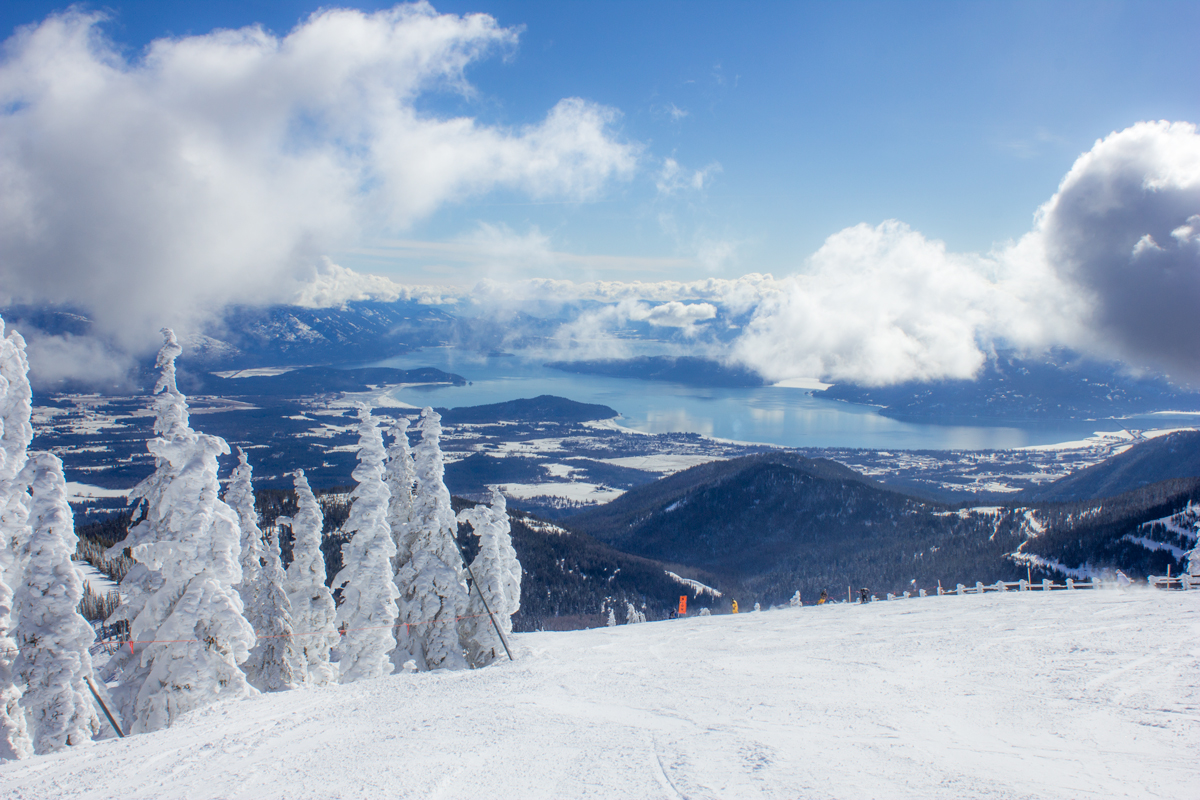 Schweitzer Mountain Resort Sweeping Views via J5MM.com