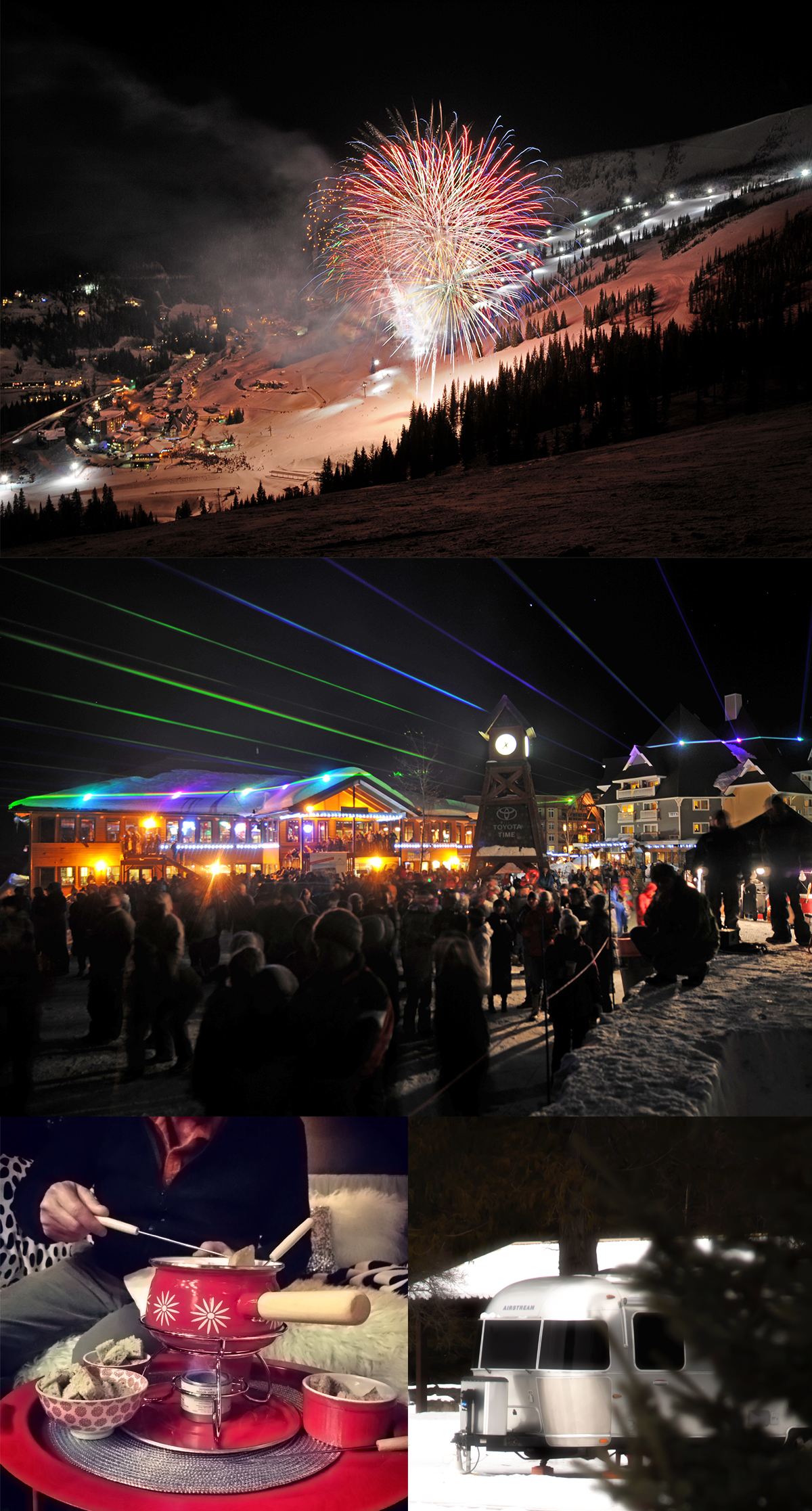 Fireworks and Lazer Show at Schweitzer Mountain Resort in Beautiful Idaho via J5MM.com
